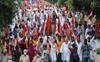 Farmers gherao BJP leaders' houses