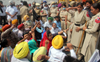 AAP protests move to lease out Bathinda thermal plant land to private companies at Re 1 per acre