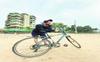 Karan Jotwani's 'me time' is cycling!