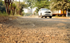 This stretch in Amritsar is a mix of dust, potholes