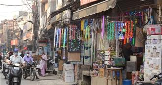 Pandemic dims Diwali sparkle for traders