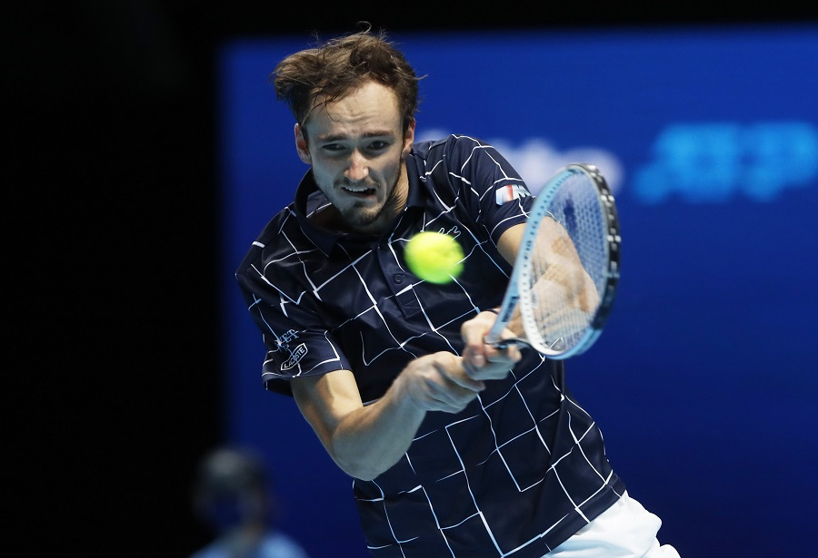 Medvedev beats Djokovic to reach semis at ATP Finals