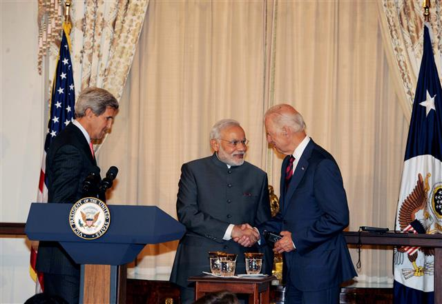 Climate Change Dialogue between India and the U.S. Expected To Resume After Biden's Victory