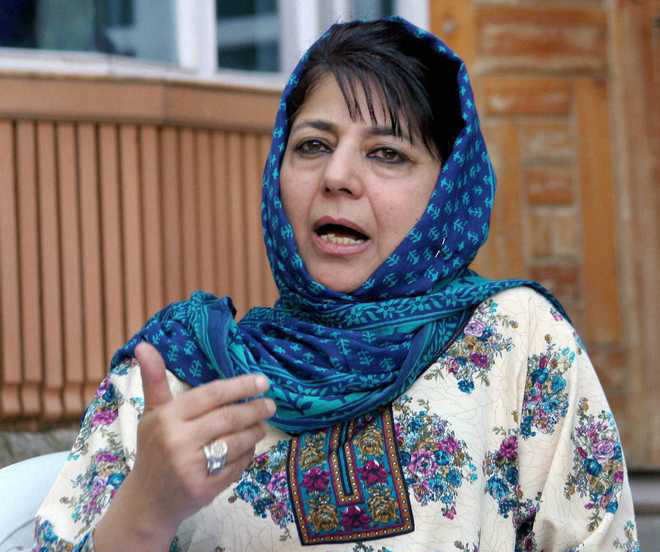 Centre sabotaging participation of non-BJP political parties in DDC polls: Mehbooba