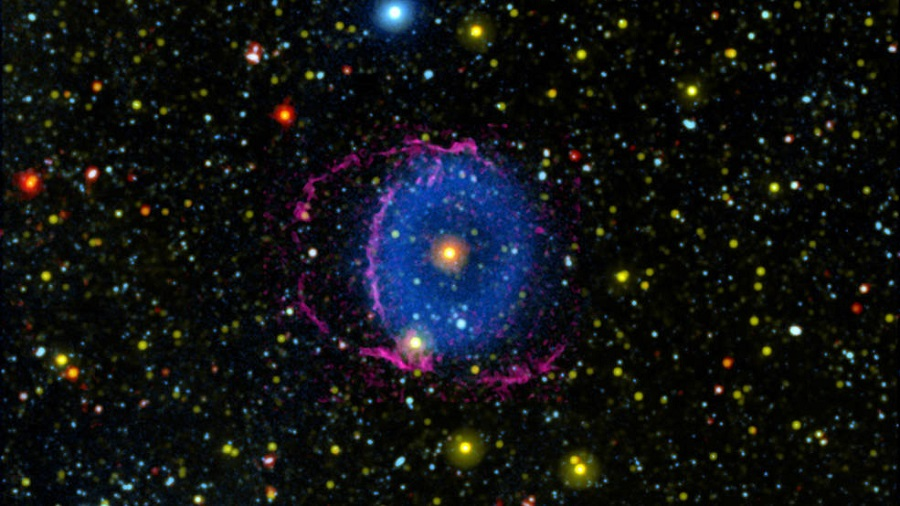 Scientists solve 16-year-old Blue Ring Nebula mystery