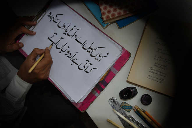 A Brigadier's love for Urdu