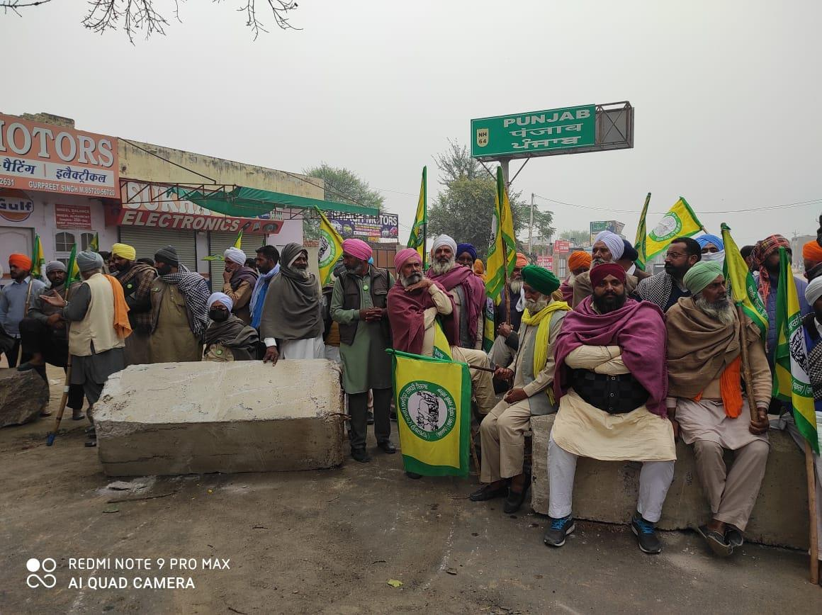 'Delhi Chalo' protest: Hundreds of farmers gather along Punjab-Haryana border