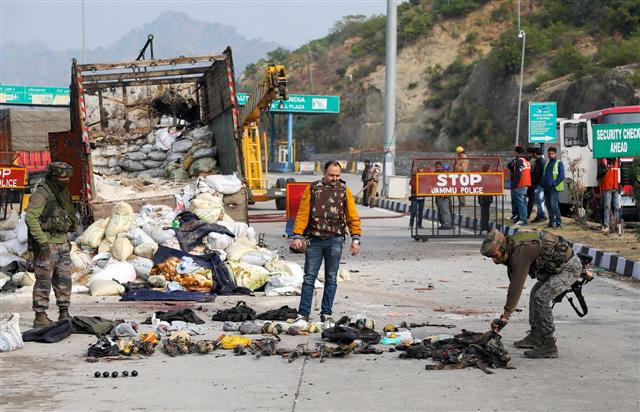 4 Jaish-e-Mohammed terrorists killed in encounter in Jammu's Nagrota