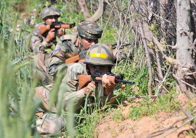 4 security personnel killed, 3 militants gunned down in J-K's Machil