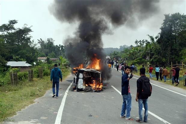 Death toll rises to 2 in Tripura firing incident