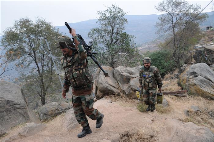 Pakistan targets villages, forward posts along IB, LoC in J-K