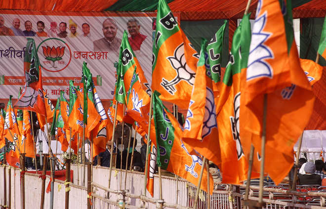In Kargil council, BJP sharing power with NC, which it calls 'Gupkar gang'