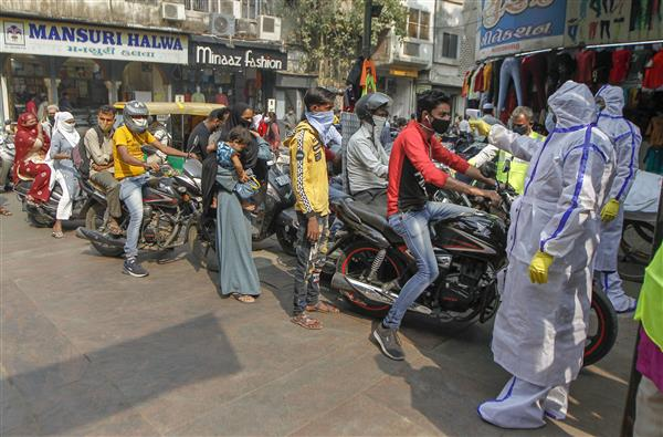 Night curfew in Ahmedabad from Friday ,news today