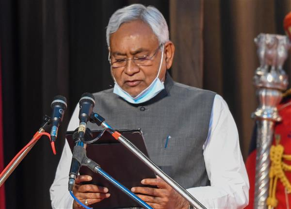Nitish Kumar takes oath as Bihar Chief Minister for seventh time in 2  decades