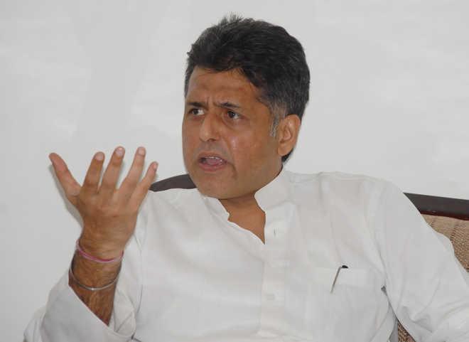 Congress leader Manish Tewari tests positive for COVID-19
