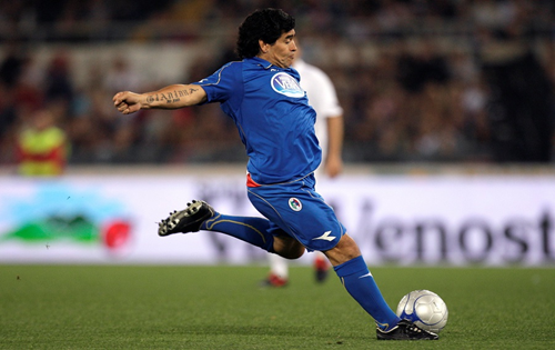 Matchless Maradona