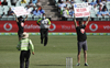 Two protesters enter field during India-Australia ODI