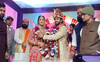 Wrestling couple Sangeeta Phogat and Bajrang Punia tie the knot; take 8 'pheras'; read why