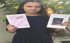 At 16, she has already penned two books