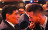 Maradona & Messi: Two symbolic extremes of a football superstar