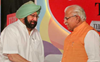 Amarinder, Khattar in twitter spat over farmers' Delhi Chalo march