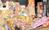 Over 400 kg firecrackers seized in Delhi, two held