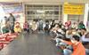 Work stalled at Punjabi University for 3 hours