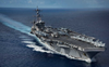 US aircraft carrier deploys to Gulf, Navy says unrelated to 'specific threats'