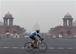 Delhi's air quality slips to 'severe' due to slow winds