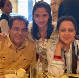 Dharmendra, Hema Malini become grandparents again; daughter Ahana gives birth to twin girls