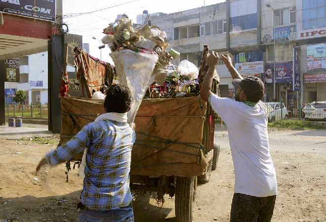 Finally, door-to-door garbage collection begins in Ambala
