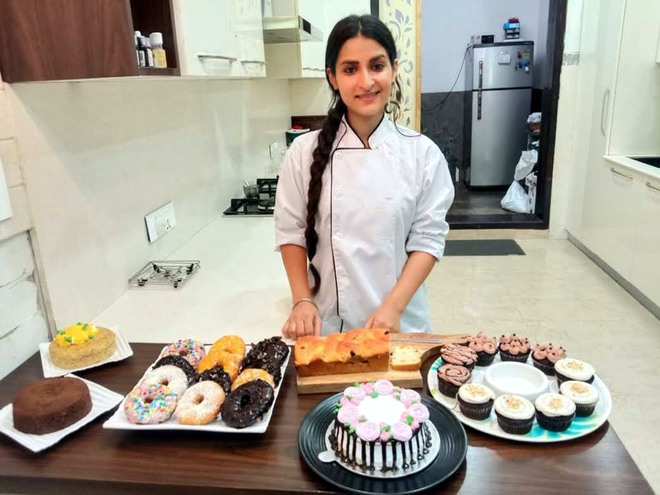 As dining out becomes a passé, home bakers take the cake