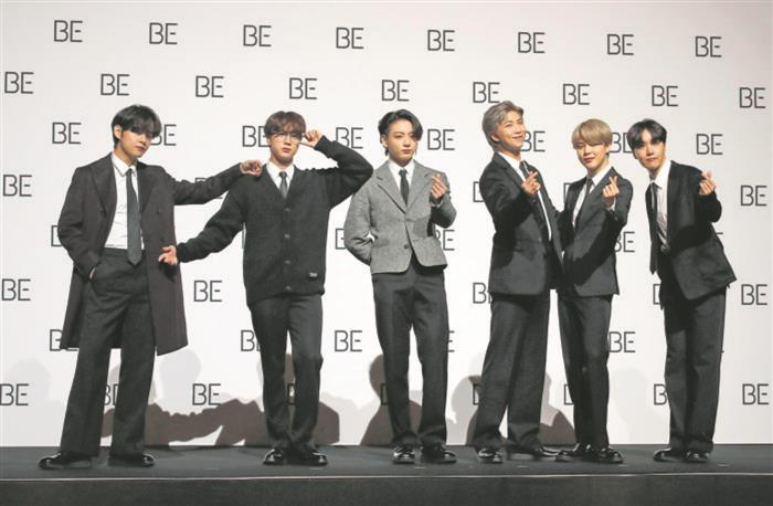 With their new album Be, popular K-pop band BTS sends out a message of hope