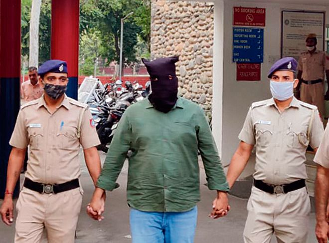 Bathinda Youth Cong chief among five held with arms by Chandigarh Police