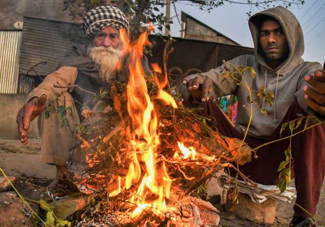 Chandigarh sees season's coldest day