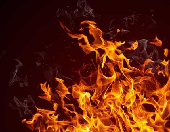 Fire breaks out at PRTC workshop near Patiala's Sirhindi gate