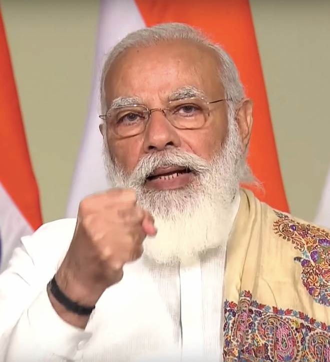 At G-20, PM Modi calls for new template in post-Covid world