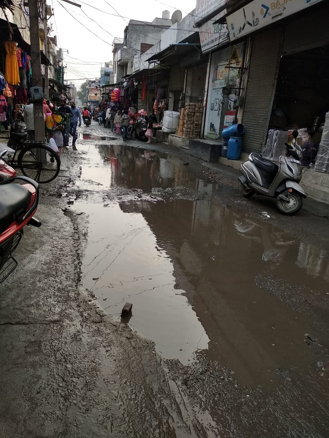 Ward No. 22 roads in dire need of repair