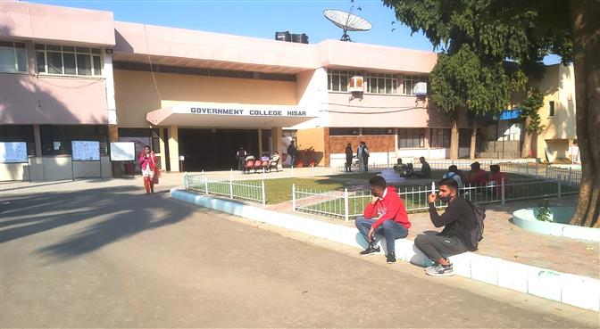 Covid norms go for a toss at Hisar college