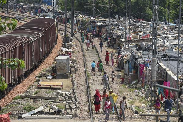No coercive action to remove slums along tracks in Delhi