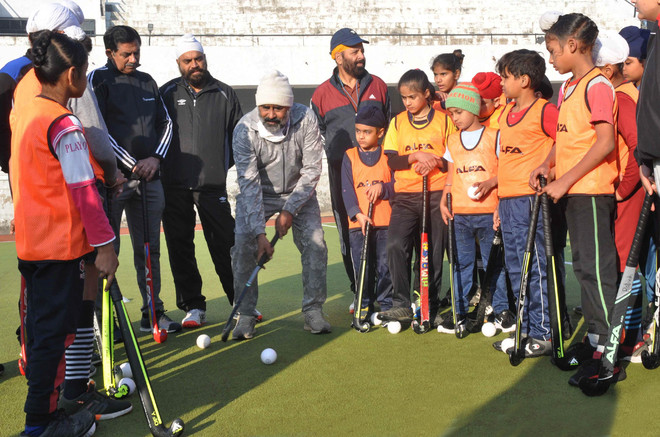 Budding players get tips from Olympians