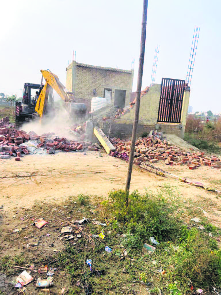 52 illegal structures razed
