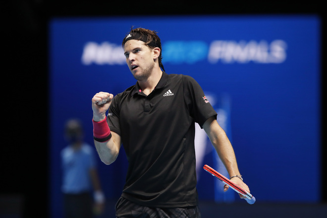 Thiem edges past Djokovic; in final for 2nd straight year