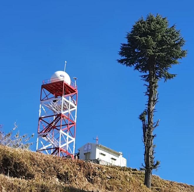 First doppler weather radar installed at Kufri