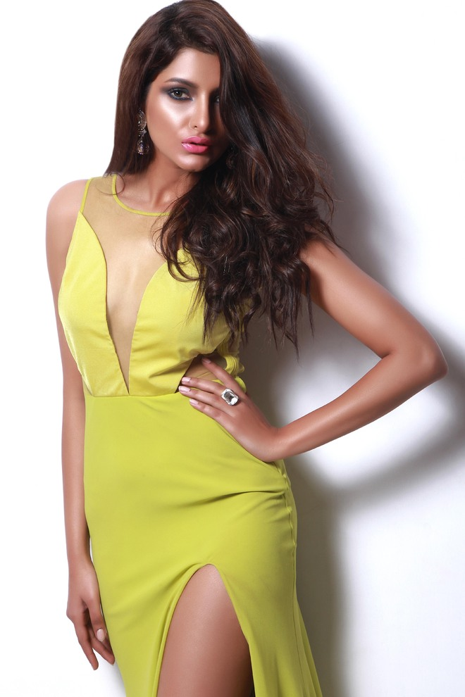 Model Yoshiki Sindhar believes the mind can be trained to eat healthy