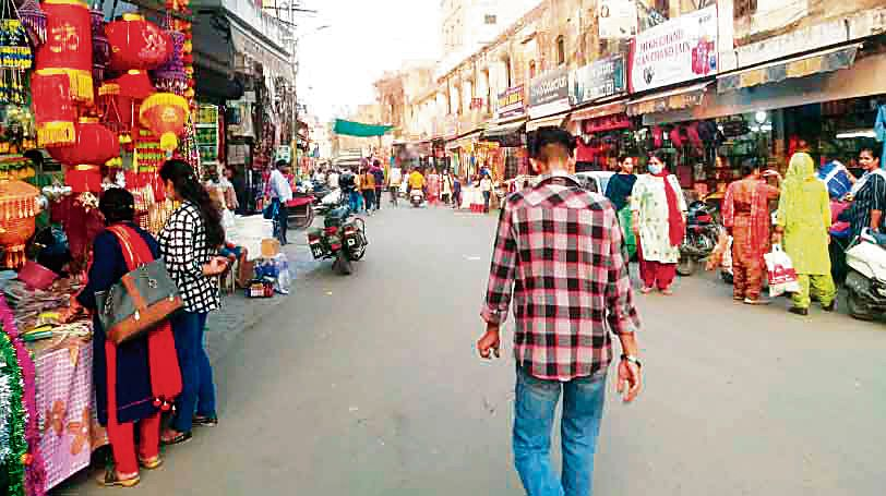 Sans buyers, markets in Patiala largely deserted