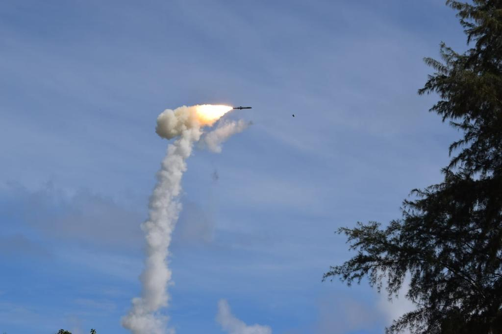 BrahMos supersonic missile test-fired