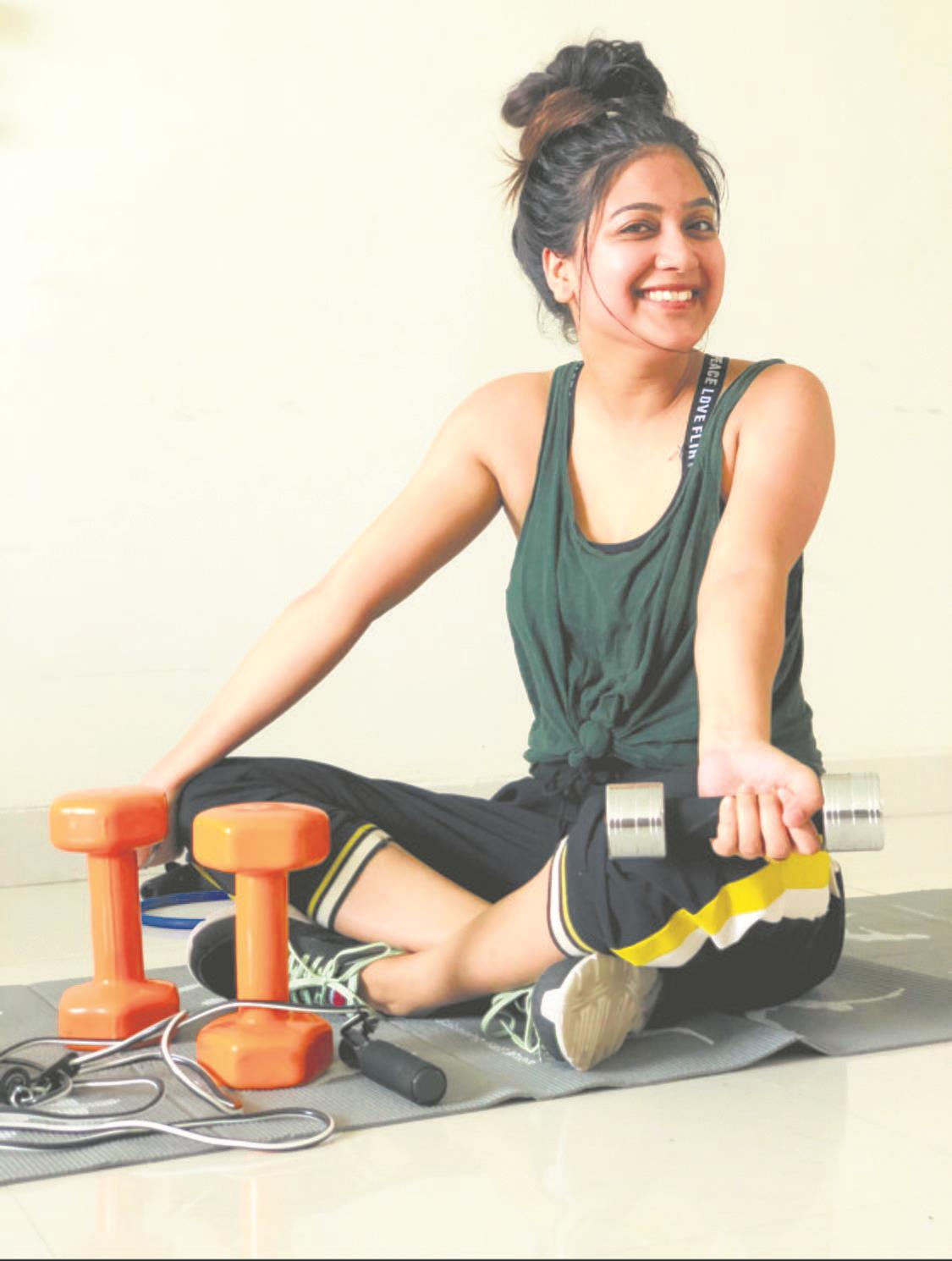 Otherwise a fitness enthusiast, Punjabi actress Sawan Rupowali says she can't resist when she sees a pizza!
