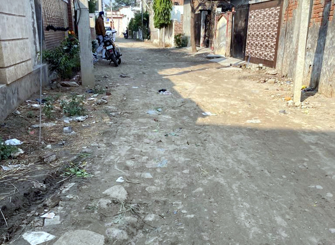 22 yrs on, residents wait for a metalled road