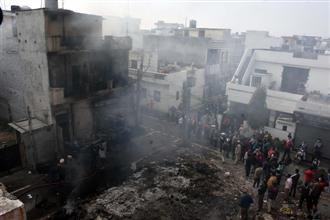 Two major fires in Ludhiana city areas